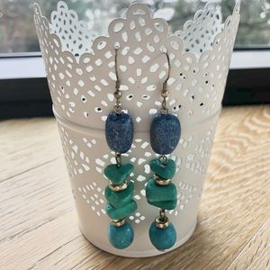 Chico's Jewelry - 3/$15❤️ CHICO'S Blue, green turquoise earrings